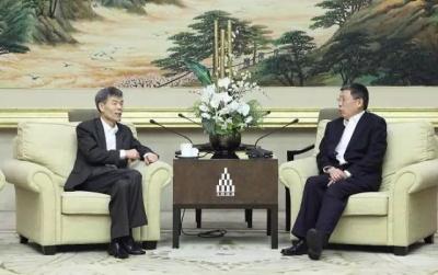 『头条』上海市市长杨雄会见中国外运长航集团董事长赵沪湘